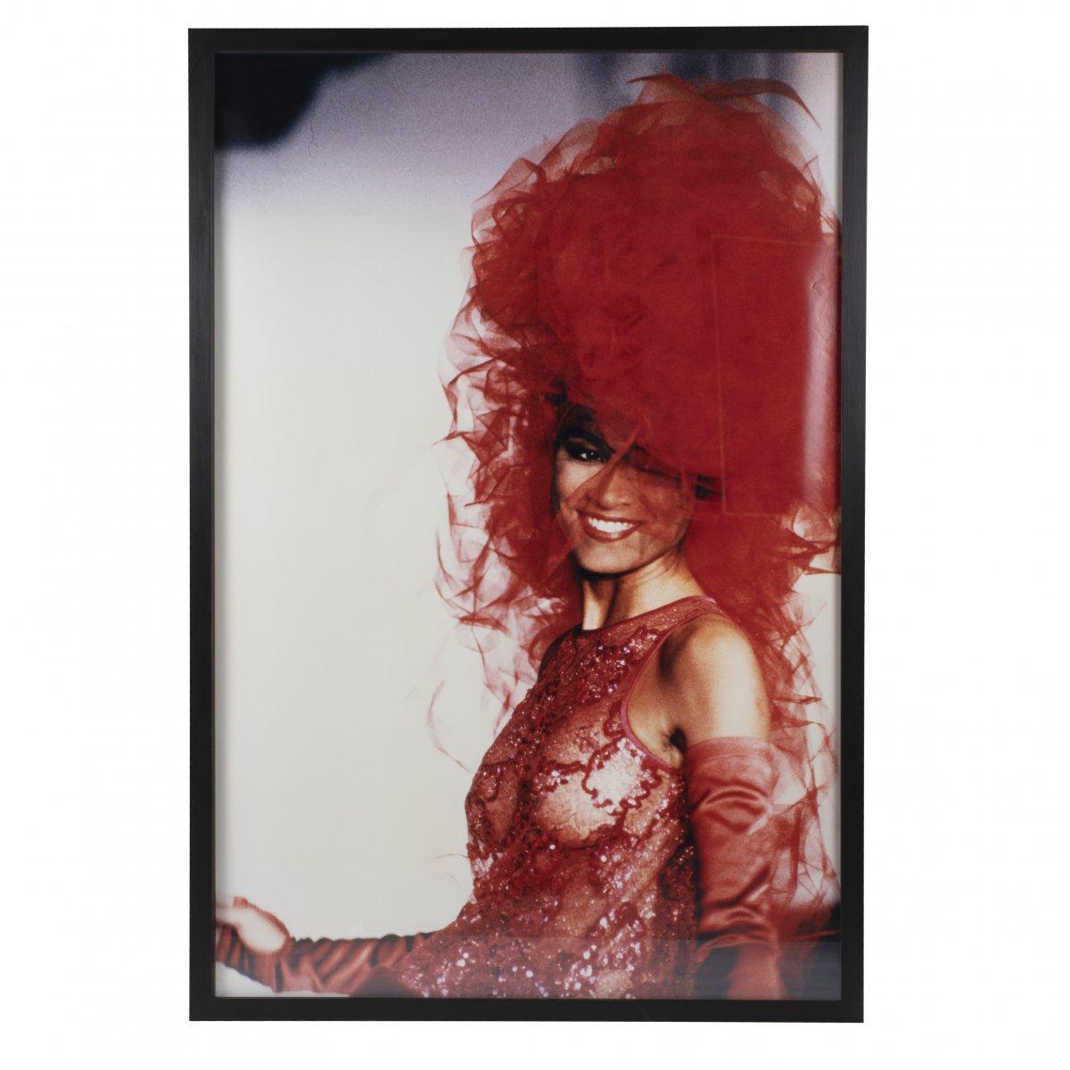 Grande photographie de mode de la marque de mode avant-garde Tonga, Munich 1980