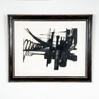 Dessin de Manuel Viana, Lithographie en noir et blanc, édition limitée
