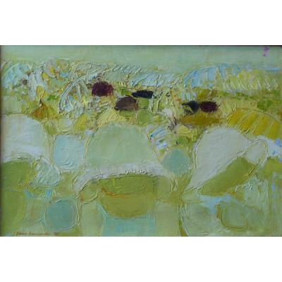 Tableau «baigneuses», 1961, Denise Bourdouxhe (1925-1990)