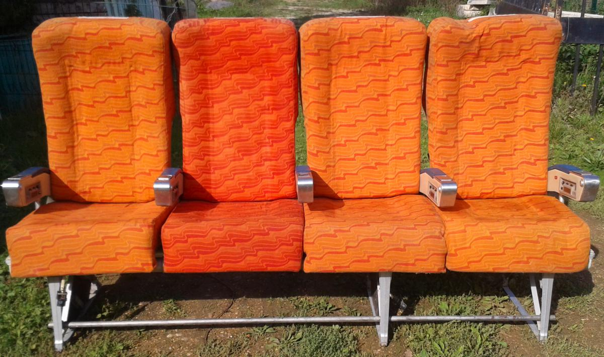 Seats, Armchairs, Bench Jet (lot Important)