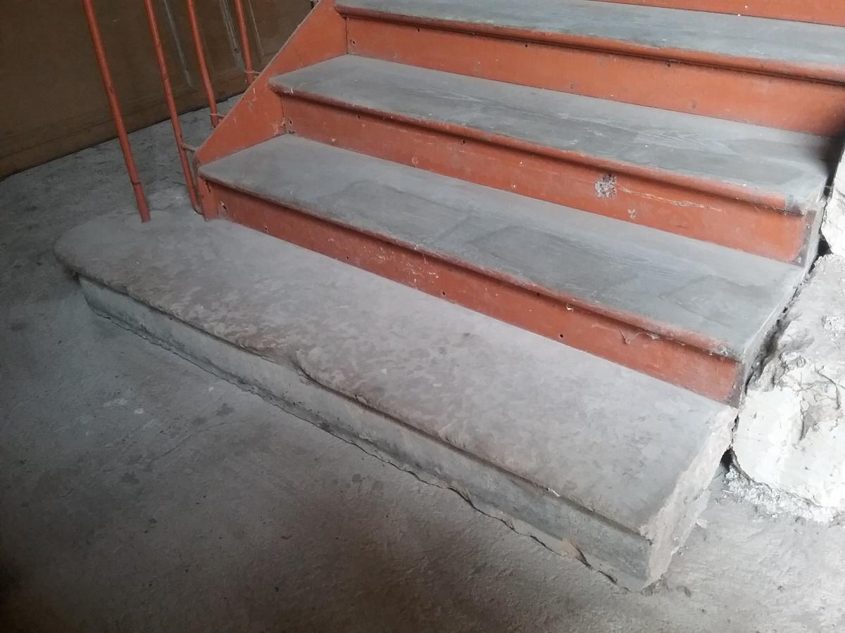 Monumental escalier bois et fer escaliers rampes balustres - Escalier bois et fer ...