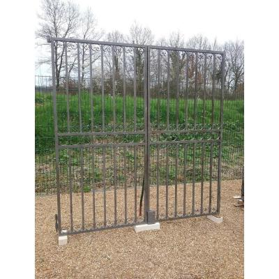 Portal Wrought Iron Bars Squares