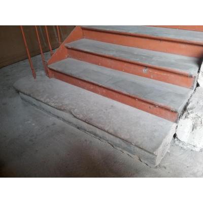 Monumental Escalier Bois Et Fer
