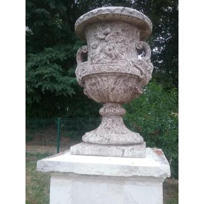 Paire de Vases d'ornement