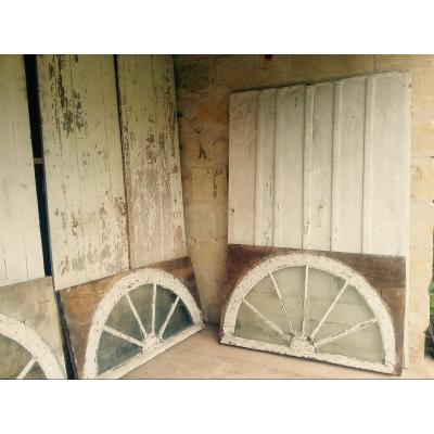 Diverses Portes d'Orangerie (4 Paires)