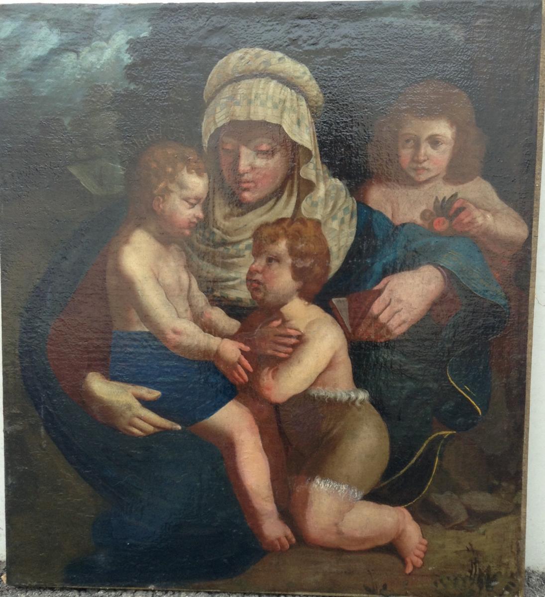 Madone Florentine Fin XVIeme