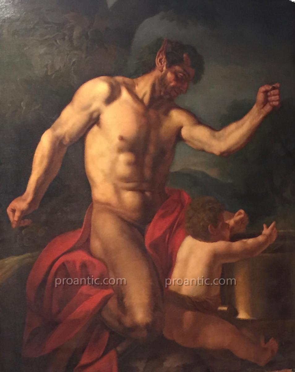 Silène et Dionysos