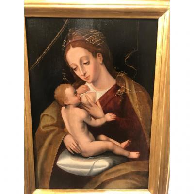 Vierge Allaitant (virgo Lactans)