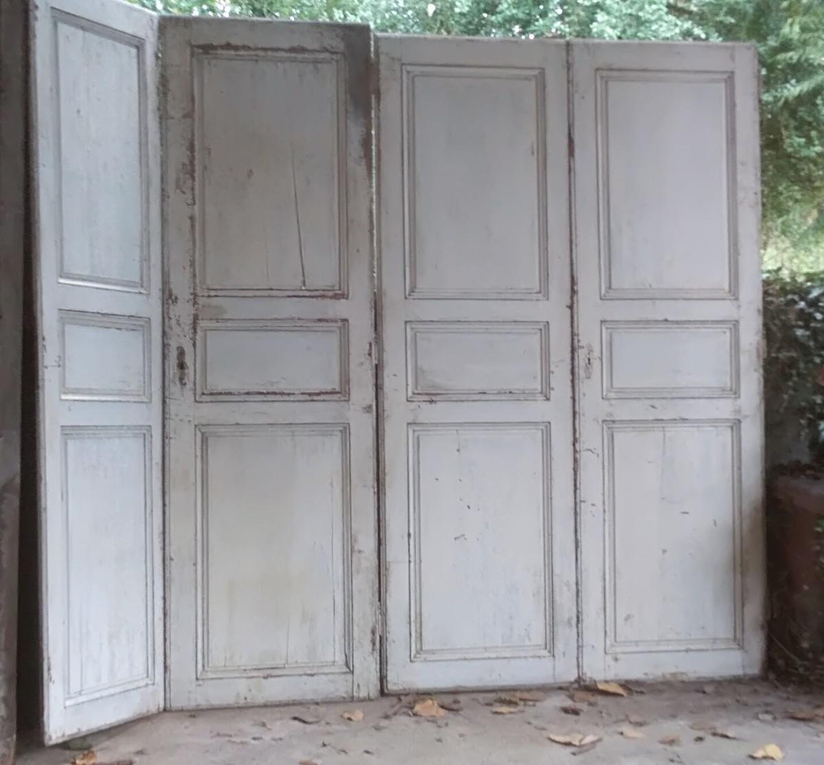 Portes De Placard XVIIIème Porte Ancienne Boiserie