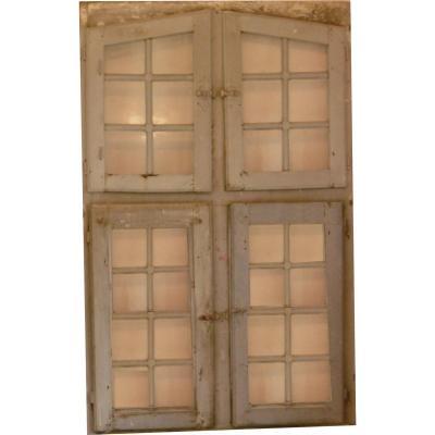 Ensemble De Porte Et Fenêtre XVIIème