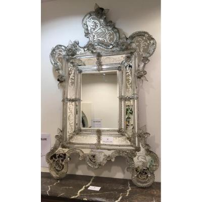 Miroir Vénitien ancien