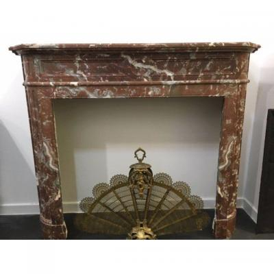 Fireplace Louis XVI Say Half Moon