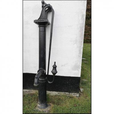 Large 18th Century Fountain Arm Pump