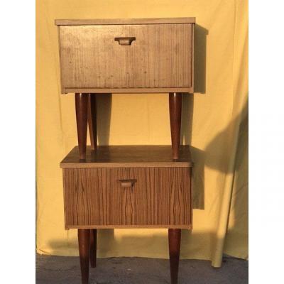 Vintage Dresser And Nightstands