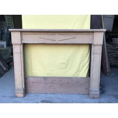 Directoire Fireplace In Spruce