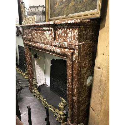 Fireplace Louis XIV With Hotte