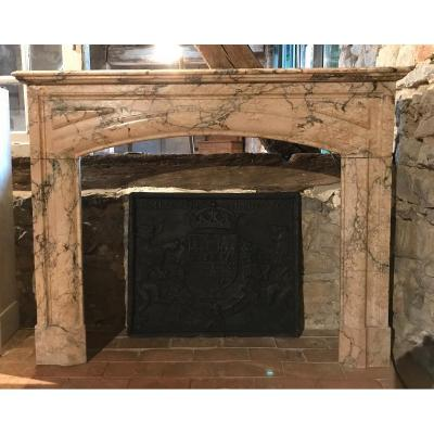 Marble Fireplace In Boudin