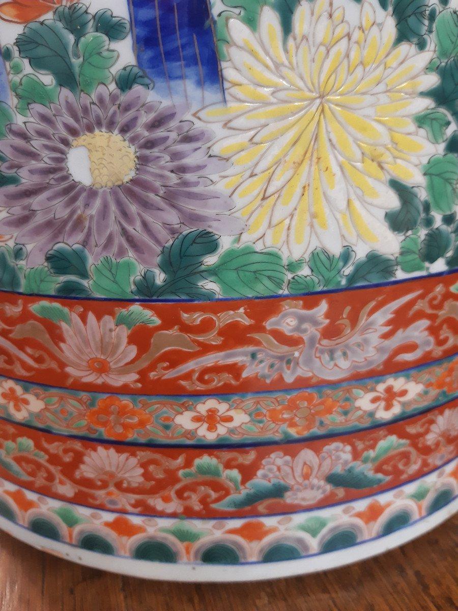 Grand Vase Imari XIXe Siècle-photo-1