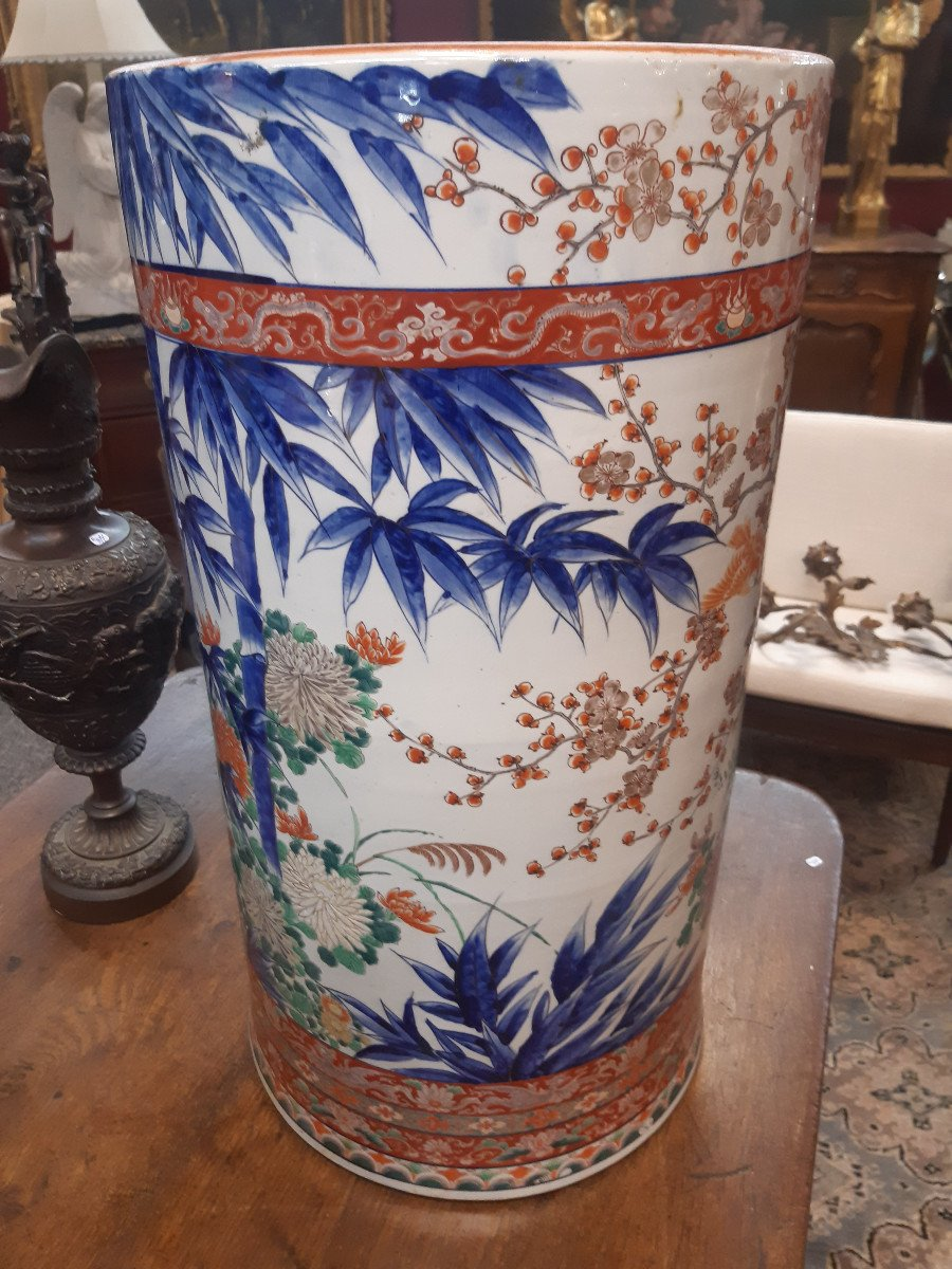 Grand Vase Imari XIXe Siècle-photo-2