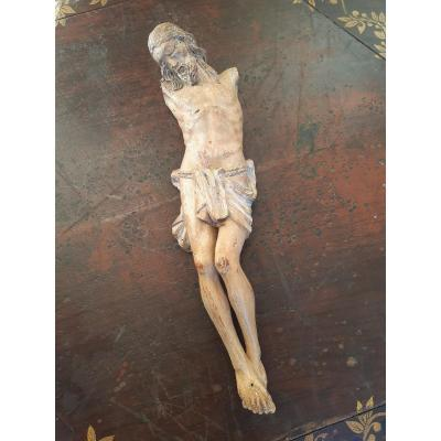Christ In Carved Wood