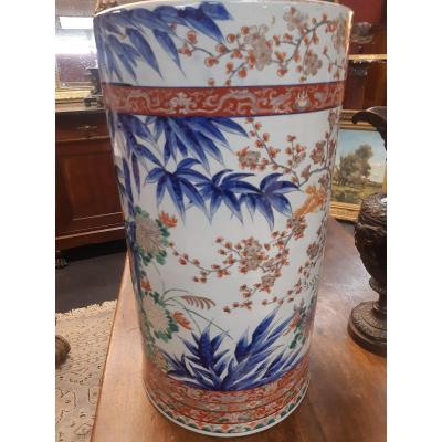 Large 19th Century Imari Vase