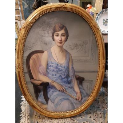Oil On Canvas Nineteenth Century