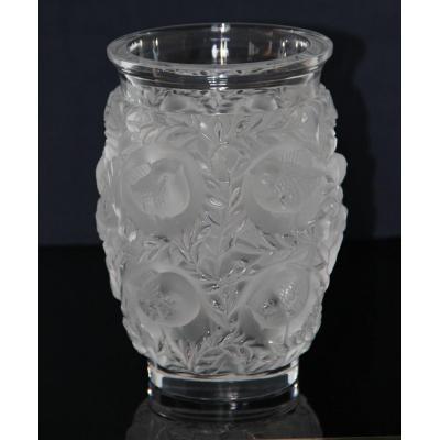 Lalique Vase Bagatelle Art Déco En Cristal