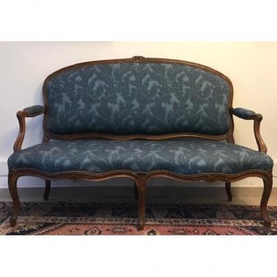 XVIIIth Carved Louis XV Sofa