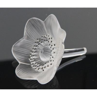 Lalique France Anémone Presse Papiers