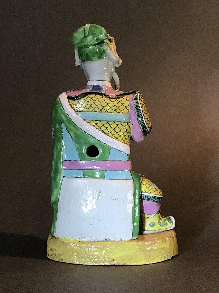 Guardian, China, 18th Century, Polychrome Porcelain-photo-3