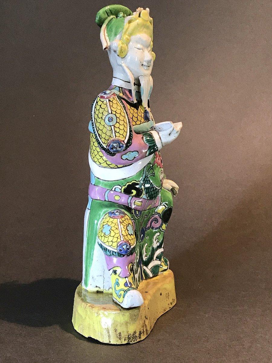 Guardian, China, 18th Century, Polychrome Porcelain-photo-4