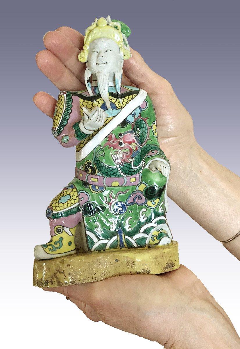 Guardian, China, 18th Century, Polychrome Porcelain-photo-2