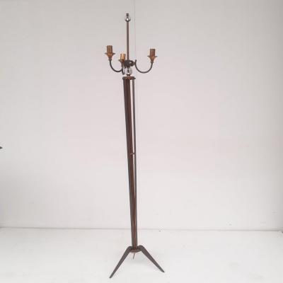 1950 Genet Et Michon Paris Floor Lamp