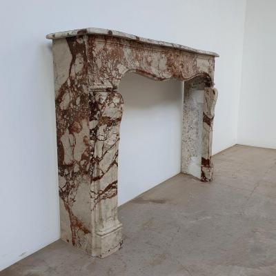 Lxv Style Marble Fireplace