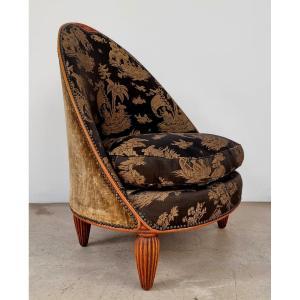 1925 Armchair By Paul Follot