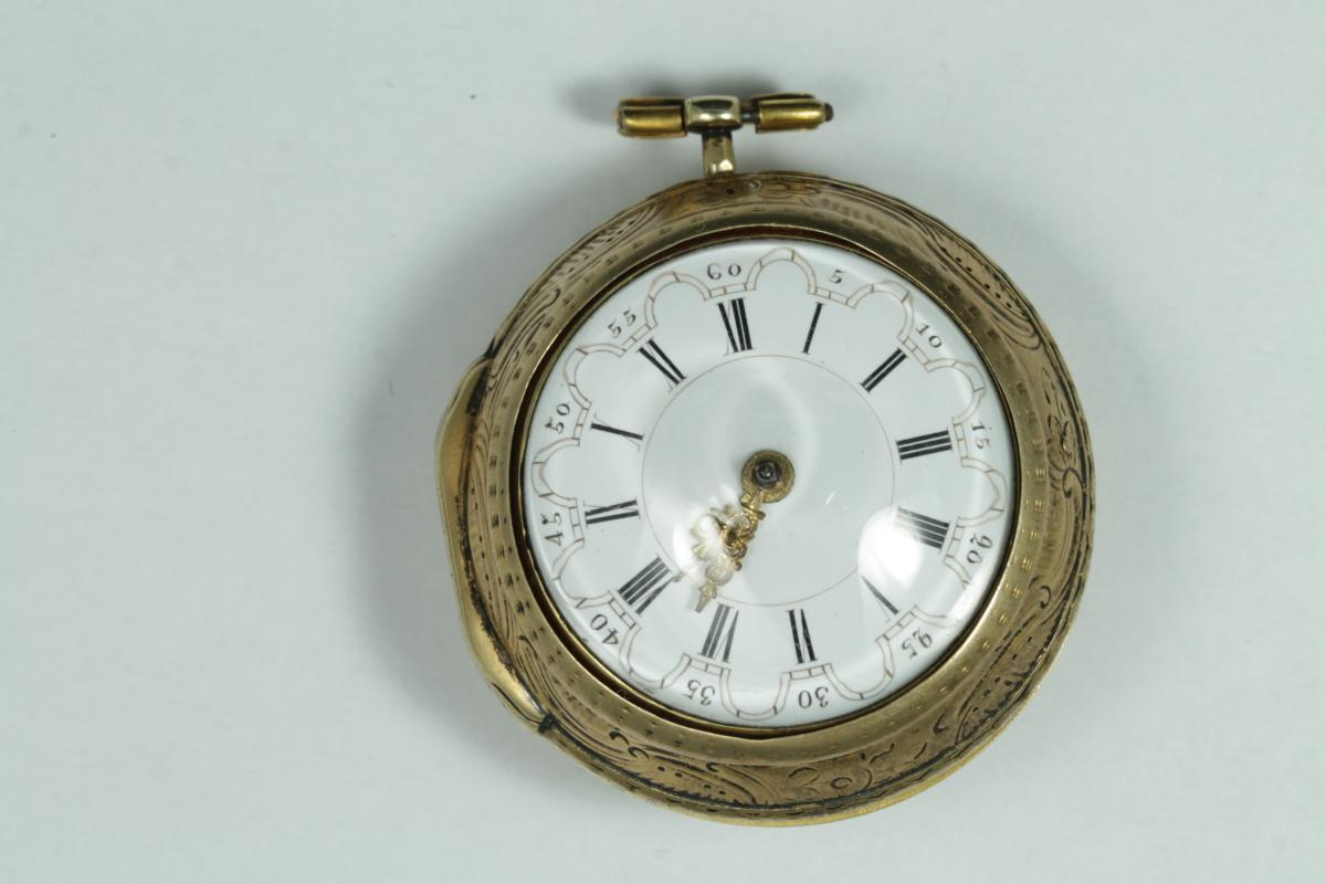 Antique Gold Verge Fusee Pocket Watch