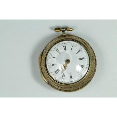 Antique Gold Verge Fusee Pocket Watch
