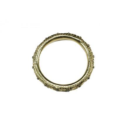 Antique Ruby Gold Bracelet