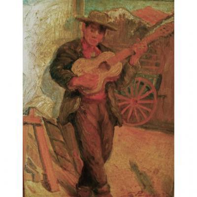 Georges Pomerat  Le guitariste