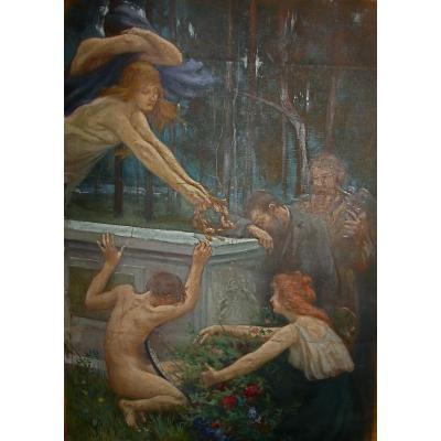 Tristesse Et Recueillement Sur Le Monument De Puvis De Chavannes