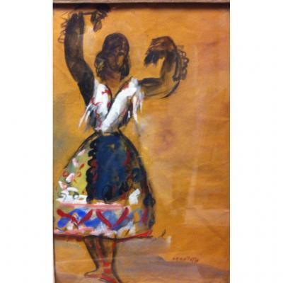 Jean Toth  Danseuse de Flamenco