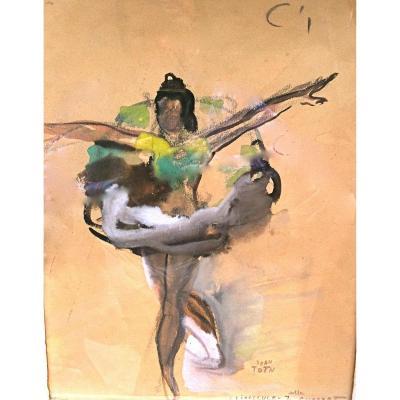 Jean Toth    Danseuse en tutu