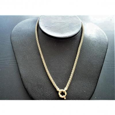 Collier Maille Jaseron Or 18 Carats