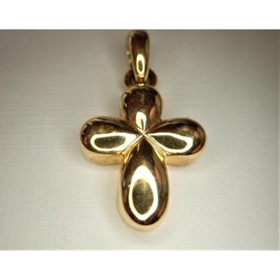 Vintage 18k Gold Cross