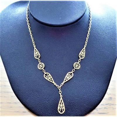 Collier Draperie Or 18 Carats