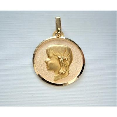 Médaille Or 18 Carats