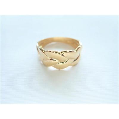 Vintage 18k Gold Godrons Ring