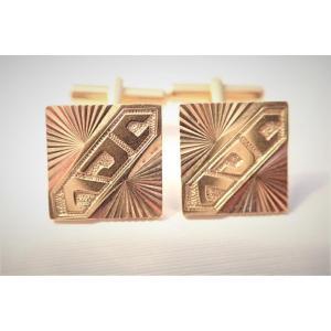 Pair Of 18k Gold Cufflinks