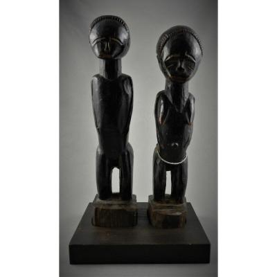 Primordial Couple Baoulé - Ivory Coast