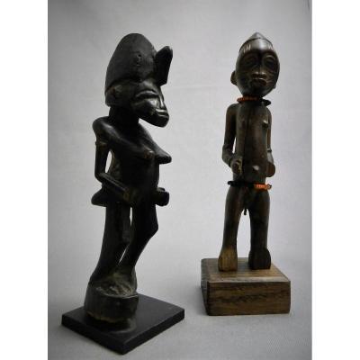 -20 \% ! Duo De Figures Tugubele Senoufo - Côte d'Ivoire